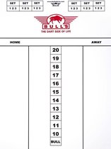 Bull's DARTTEL FLEX 60x44cm - Dart scorebord