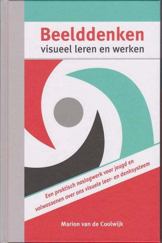 Boek cover Beelddenken, visueel leren en werken van Marion van de Coolwijk (Hardcover)