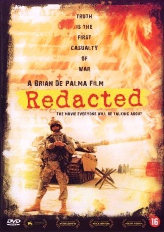 Cover van de film 'Redacted'