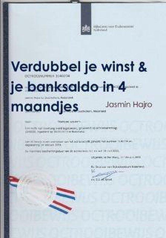 Winstgroei serie 5 - Verdubbel je winst & je banksaldo, in 4 maandjes - Jasmin Hajro pdf epub