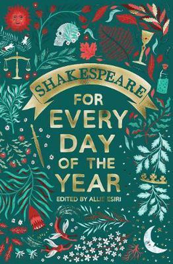 Boek cover Shakespeare for Every Day of the Year van Allie Esiri (Hardcover)