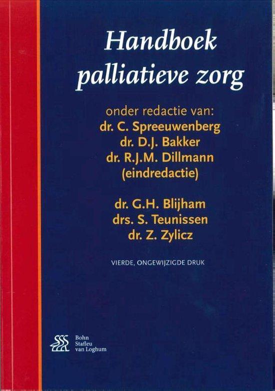 Boek cover Handboek palliatieve zorg van C. Spreeuwenberg (Paperback)