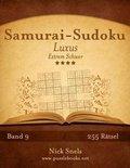 Samurai-Sudoku Luxus - Extrem Schwer - Band 9 - 255 R tsel