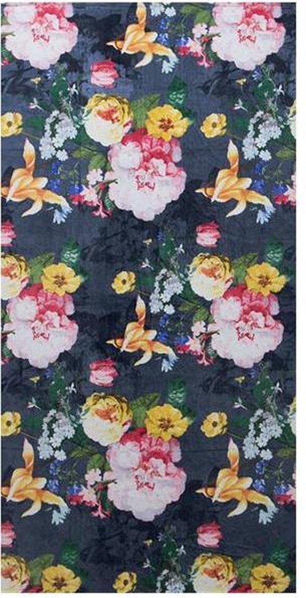 Essenza Fleur - Strandlaken - 100x180 cm - Nightblue - Essenza