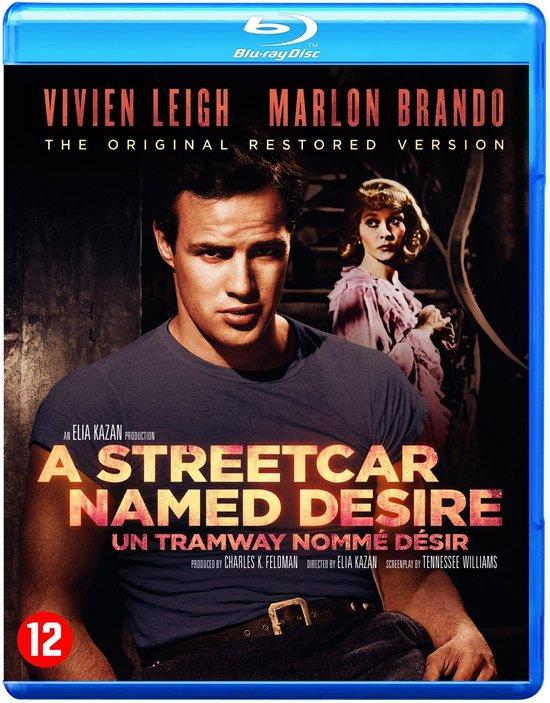 Cover van de film 'A Streetcar Named Desire'