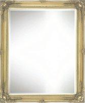 Elegante Barok Spiegel Denzel Buitenmaat 61x71cm Goud