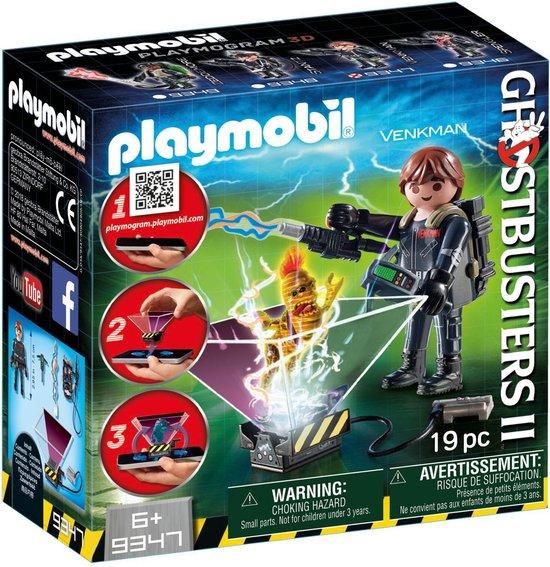 PLAYMOBIL Ghostbusters™ Ghostbuster Peter Venkman - 9347