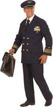 Piloot kostuum voor heren/mannen 52 (l)