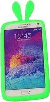 Groen Bumper Konijn Medium Frame Case Hoesje voor Samsung Galaxy A5 2015