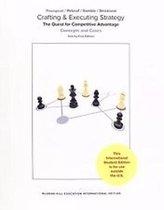 Boek cover Crafting & Executing Strategy van Thompson