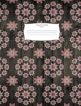 Composition Book Flowers7