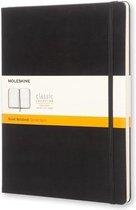 Moleskine Classic Notitieboek Hard Cover - XL - Zwart - Lijnen