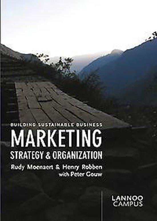 Marketing Strategy & Organization - Rudy K. Moenaert |