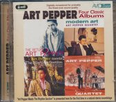 Four Classic Albums (The Return Of Art Pepper / Mo