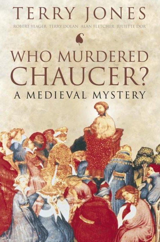 Boek cover Who Murdered Chaucer? van Jones Terry (Paperback)