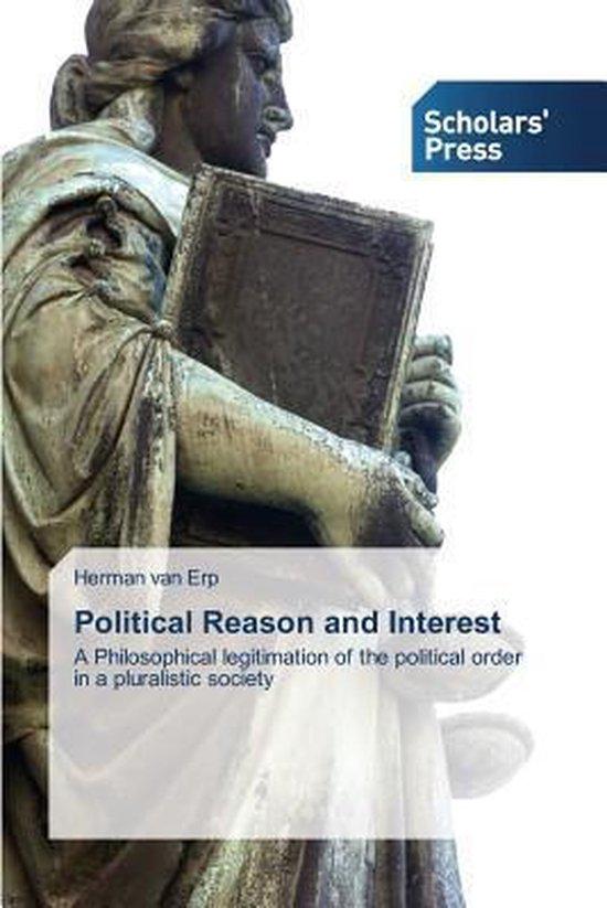 Boek cover Political Reason and Interest van van Erp Herman (Paperback)