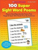 100 Super Sight Word Poems, Grades PreK-1