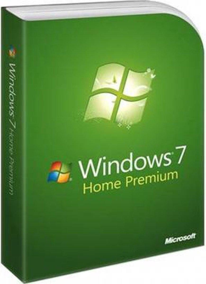 Microsoft Windows 7 Home Premium - Nederlands - OEM-versie - Microsoft