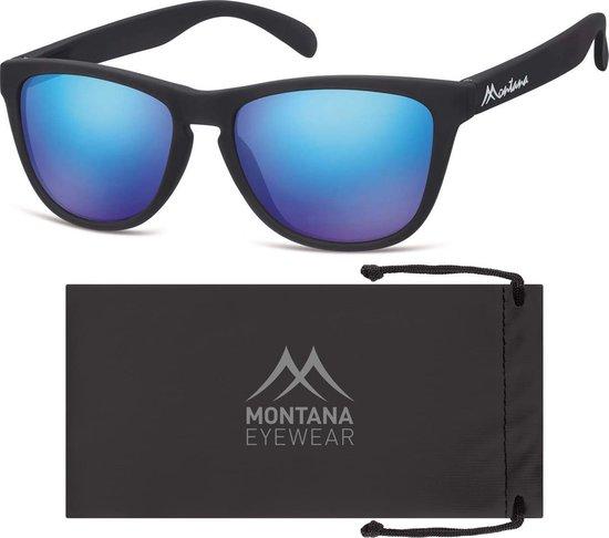 Montana MS31A - Zonnebril - Sport style - Zwart - Lensbreedte 54 mm