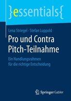 Pro Und Contra Pitch-Teilnahme