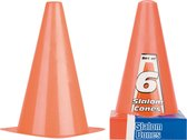 Nijdam Slalompionnen - 23 cm - Soft - Oranje