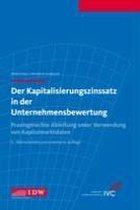Der Kapitalisierungszinssatz in der Unternehmensbewertung