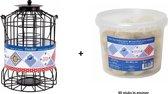 Cage Feeder + emmer met 30 mezenbollen
