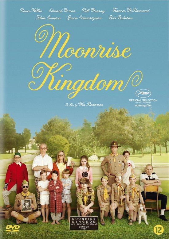 Cover van de film 'Moonrise Kingdom'