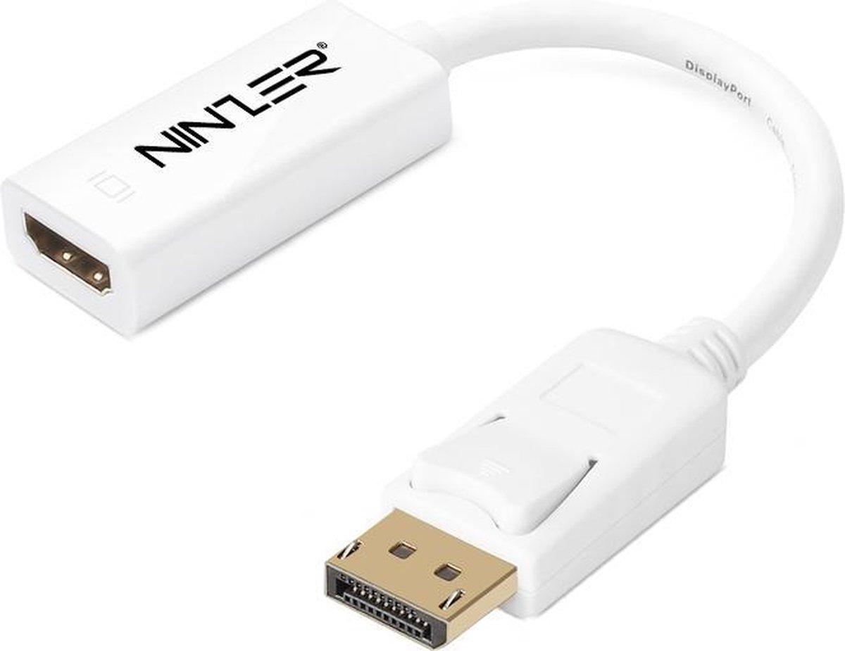 Ninzer® DisplayPort DP naar HDMI Adapter / Converter kabel - Ninzer