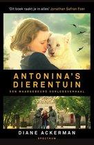 Boek cover Antoninas dierentuin van Diane Ackerman
