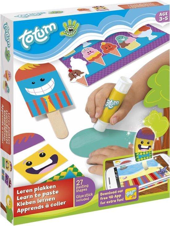 Combipack Little creators Leren knippen + Leren plakken