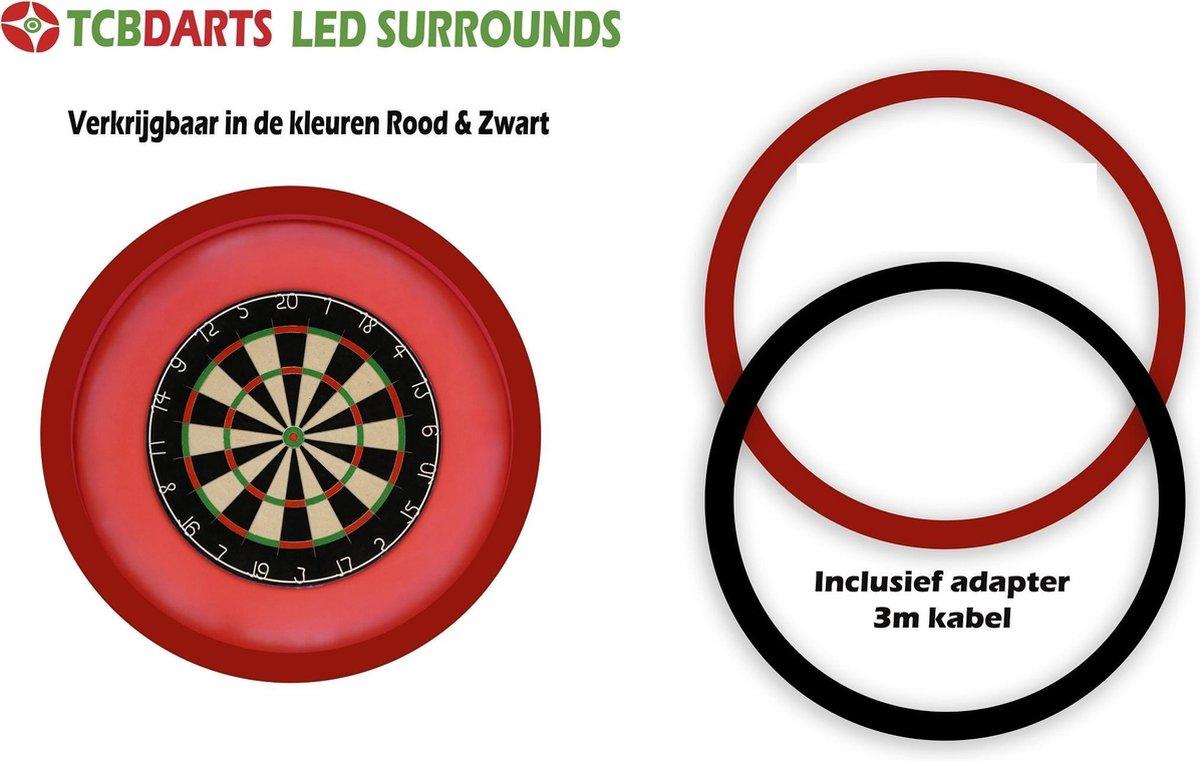 TCB XXL - Dartbord Verlichting - voor om - dartbord surround