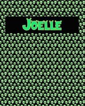 120 Page Handwriting Practice Book with Green Alien Cover Joelle