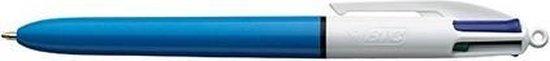 Bic 4 - Balpen - 4 kleuren pen