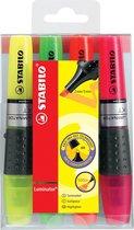 STABILO Luminator Markeerstift - Etui 4 stuks