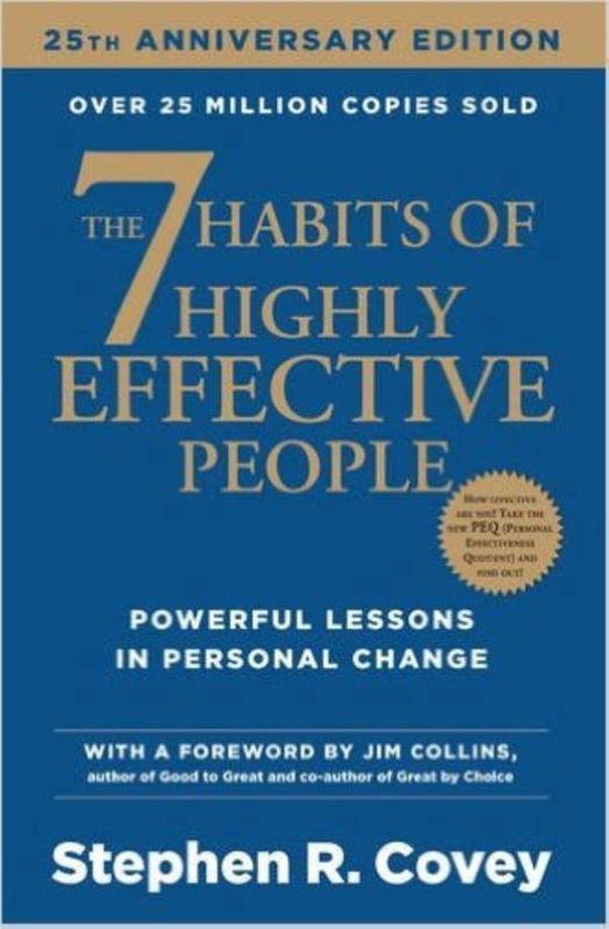 Boek cover 7 Habits Of Highly Effective People van Stephen R. Covey (Paperback)