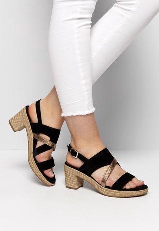 Tamaris Dames Sandalen Zwart Maat 39