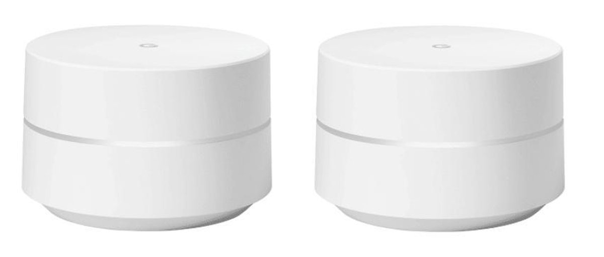 Google Wifi Duo Pack - Multiroom Wifi Systeem