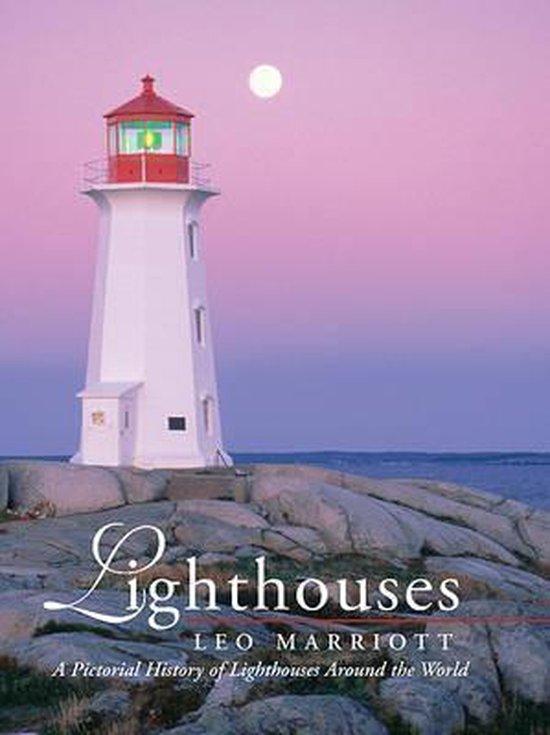 Boek cover Lighthouses van Leo Marriott (Hardcover)
