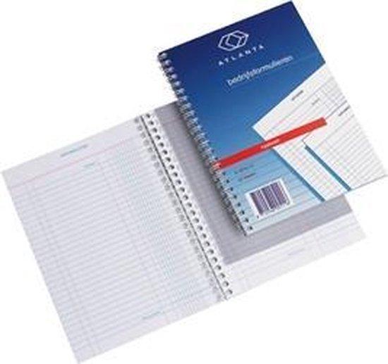 Kasboek-huishoudboekje A6 formaat