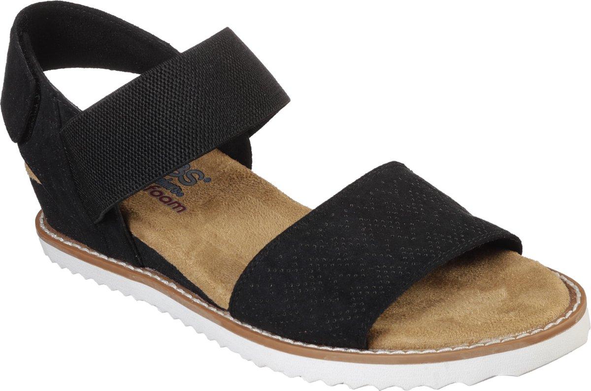 Skechers Desert Kiss sandalen zwart - Maat 39