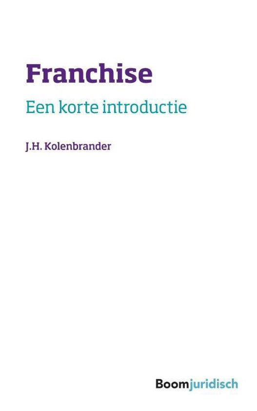 Korte introducties - Franchise - J.H. Kolenbrander |