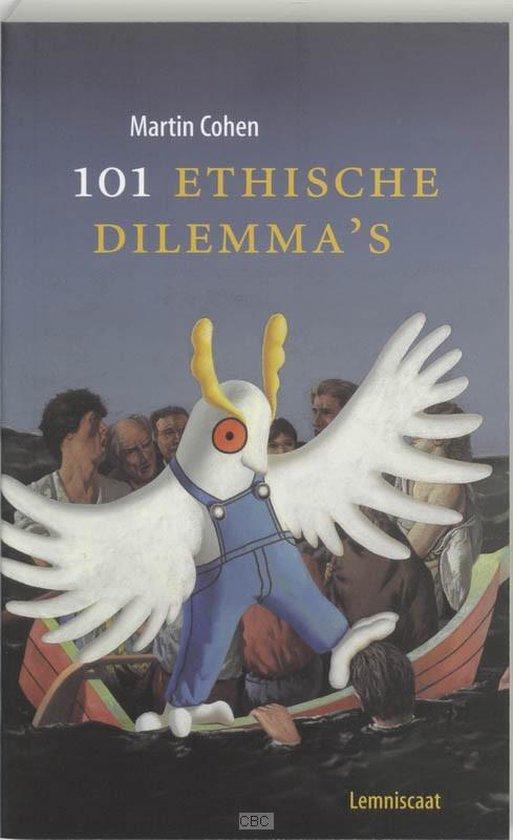 Cover van het boek '101 Ethische dilemma's' van Mau Cohen