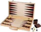 Small foot Schaakspel en backgammon koffer 52 x 45 x 3 cm