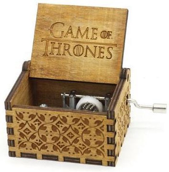 Game of Thrones Theme - Handgemaakte Muziekdoosje hout