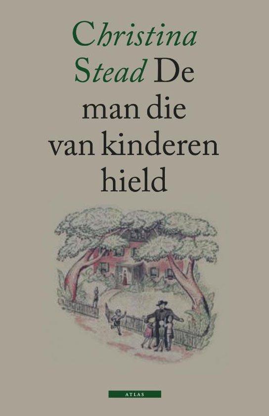 Cover van het boek 'De man die van kinderen hield' van C. Stead en Christina Stead