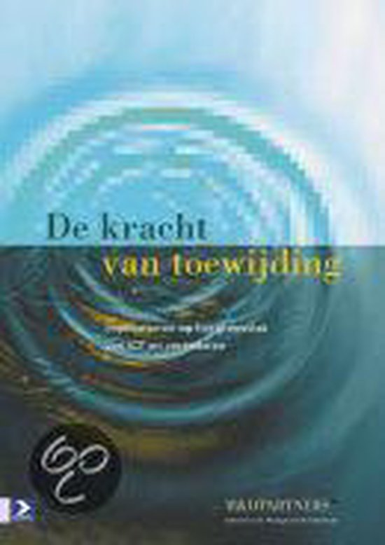 Cover van het boek 'De kracht van toewijding / druk 1'