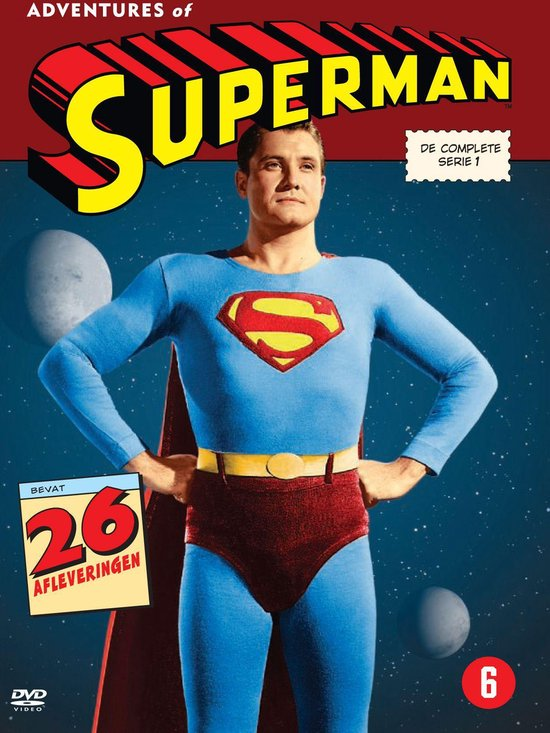 Cover van de film 'Adventures of Superman'