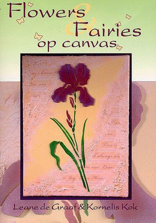 Flowers & Fairies Op Canvas - Kornelis Kok |