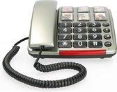 Profoon TX-560 Big Button Telefoon - Bel direct je meest dierbare en met Geluidsversterking (24dB)